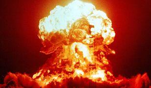 Amerykański test bomby atomowej na poligonie w Nevadzie, 18 kwietnia 1953 r.