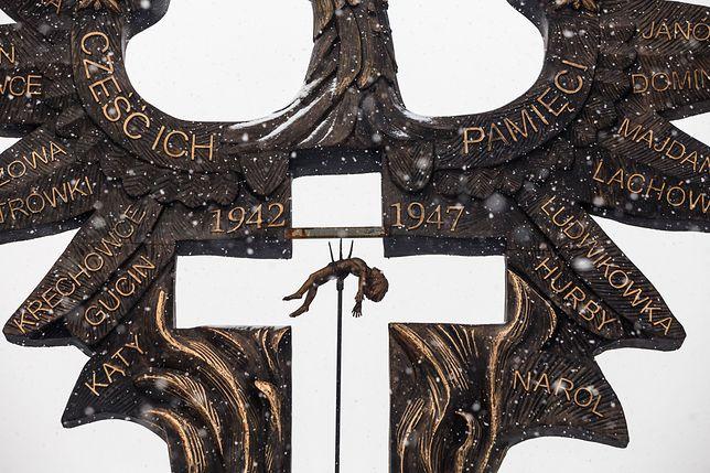 Gliwice. Pomnik upamiętniający Rzeź Wołyńską