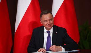 Andrzej Duda podpisał tarczę antykryzysową 4.0