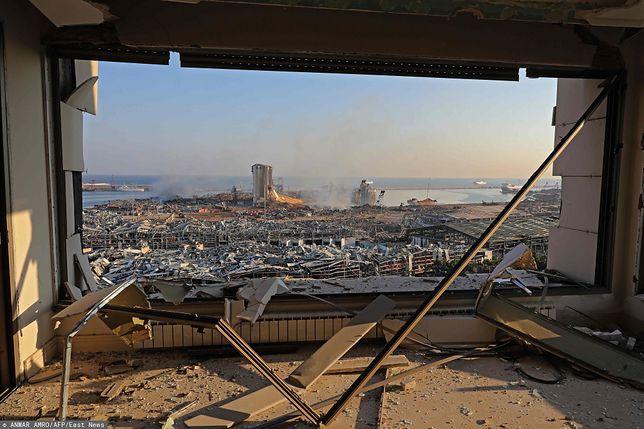 Liban. Tragedia w Bejrucie