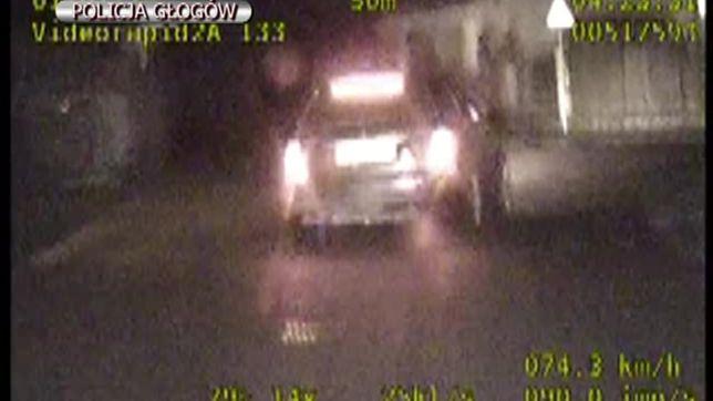 Pościg za pijanym kierowcą. Pędził przez miasto 140 km/h