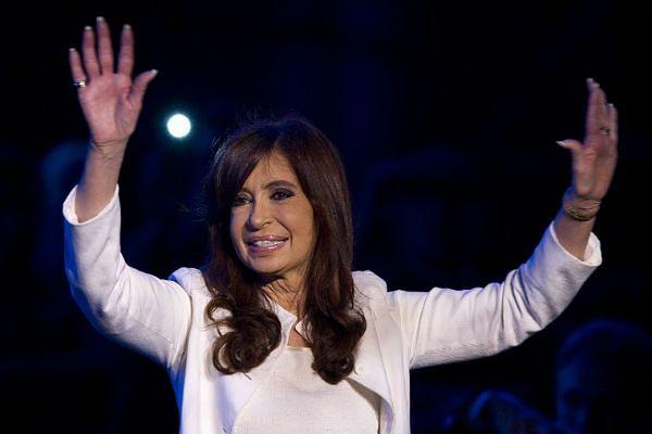 Prezydent Argentyny złamała nogę w kostce