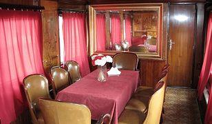 Luksusowy wagon Bieruta dostępny dla zwiedzających!