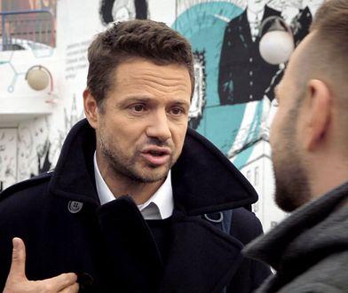 Rafał Trzaskowski popiera ograniczenie wjazdu do centrum