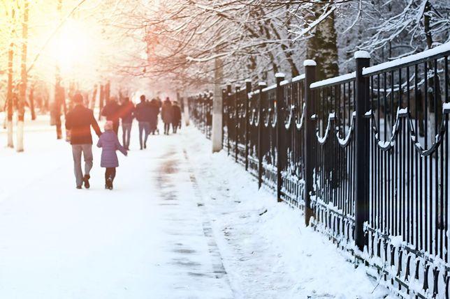 We wtorek będzie zimno i pogodnie, choć może też sypnąć śniegiem