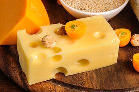 Ser szwajcarski o niskiej zawartości sodu