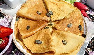 Naleśniki z mąki amarantusowej. Wyjdą przepyszne