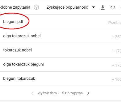 Olga Tokarczuk - co wyszukują Polacy?