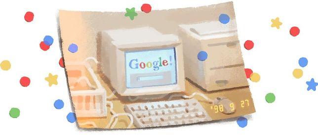 Google kończy 21 lat