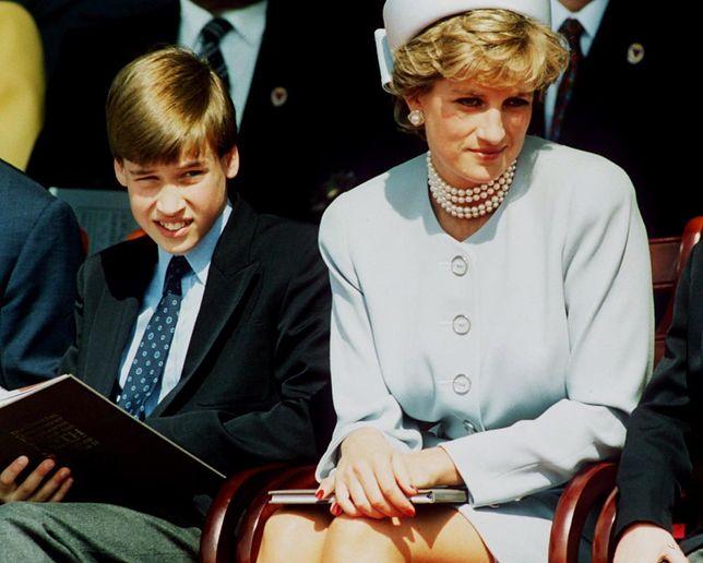 To była jedna z najważniejszych rozmów. Tak księżna Diana powiedziała Williamowi o romansie ojca