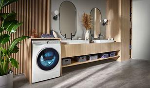 Wrzuć pranie i zapomnij. Nowe pralki i suszarki Samsung AI Control