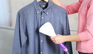 Ubrania gładkie i czyste jak po wyjęciu z pralki. Żelazka i parownice w dobrej cenie