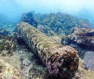 Niezwykłe odkrycie. Naukowcy z Meksyku odnaleźli wrak statku. Miał ponad 200 lat
