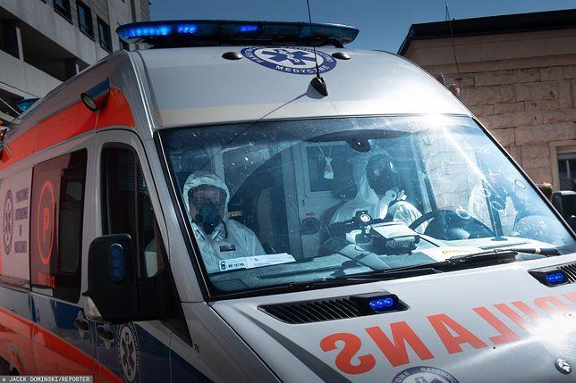 Koronawirus w szpitalach w Krakowie