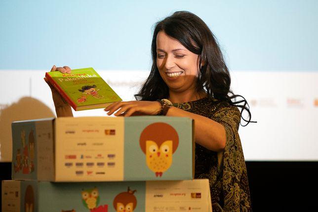 Katarzyna Pakosińska przyłączyła się do akcji promującej czytelnictwo