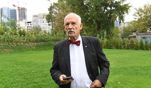 Janusz Korwin-Mikke zapowiada: zgłosimy przepisy anty-LGBT oraz przeciw ustawie 447