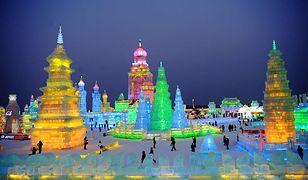 Harbin - Festiwal Lodu i Śniegu w mieście założonym przez Polaka