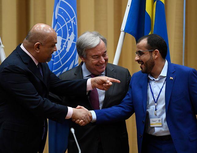 Jemen: jest zgoda na korytarz z pomocą humanitarną dla kraju