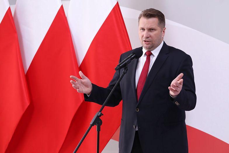 Posłowie KO złożyli wniosek o odwołanie ministra Przemysława Czarnka