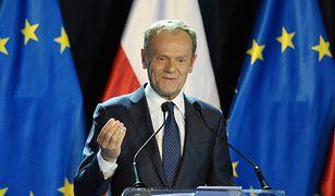 Donald Tusk na Uniwersytecie Warszawskim