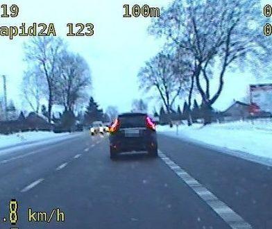 Dwóch kierowców z Białorusi przekroczyło prędkość w sumie o 146 km/h