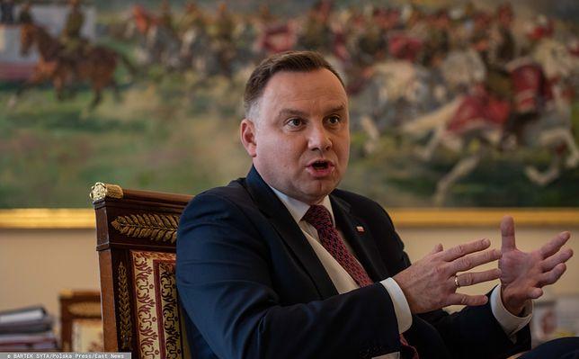 Andrzej Duda niezwykle ostro zaatakował sędziów.