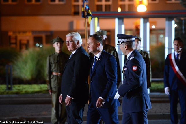1 września. Andrzej Duda: jest z nami prezydent Niemiec. Myślicie, że to łatwe?