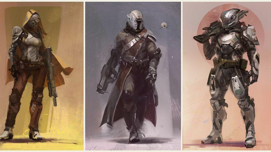 Kim będziesz grać? Trzy rasy i trzy klasy z Destiny, nowej gry studia Bungie