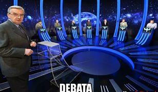 Debata liderów. Memy internautów