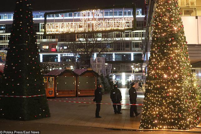 Alarm w Berlinie. W pobliżu jarmarku znaleziono 200 kul