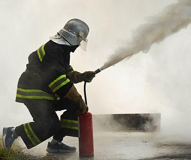 Stegny: pożar mieszkania. Spłonął mężczyzna