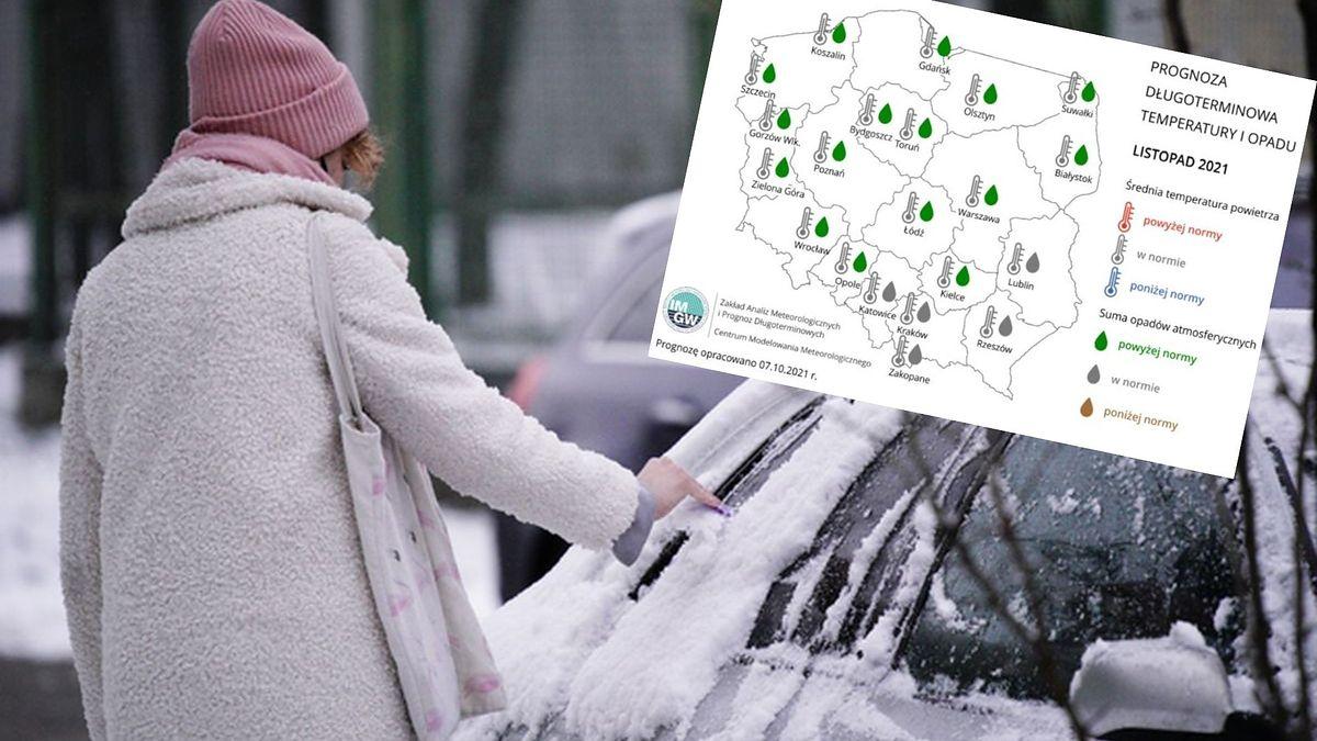 Już w listopadzie ma być chłodno. Początek przyszłego roku będzie jednak zimniejszy i bardziej śnieżny niż zazwyczaj (Getty Images, IMGW)