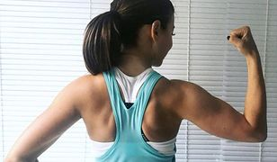 Ania Lewandowska pręży bicepsy. Na co dzień nie widać, jakie ona ma mięśnie!