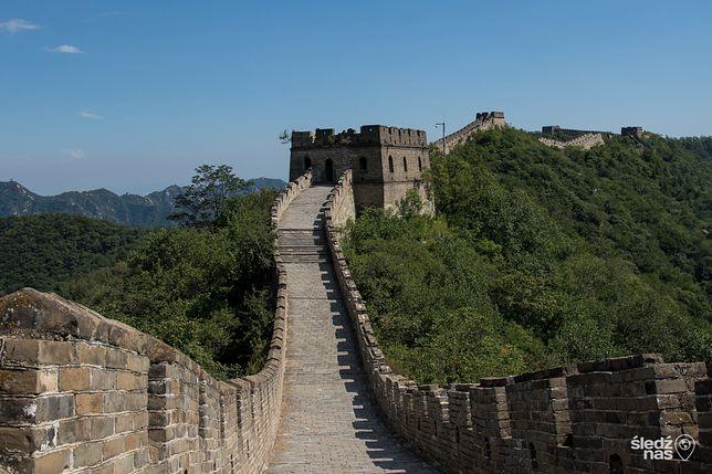 Noc na dziko na Murze Chińskim. Niewygody wynagrodzą widoki