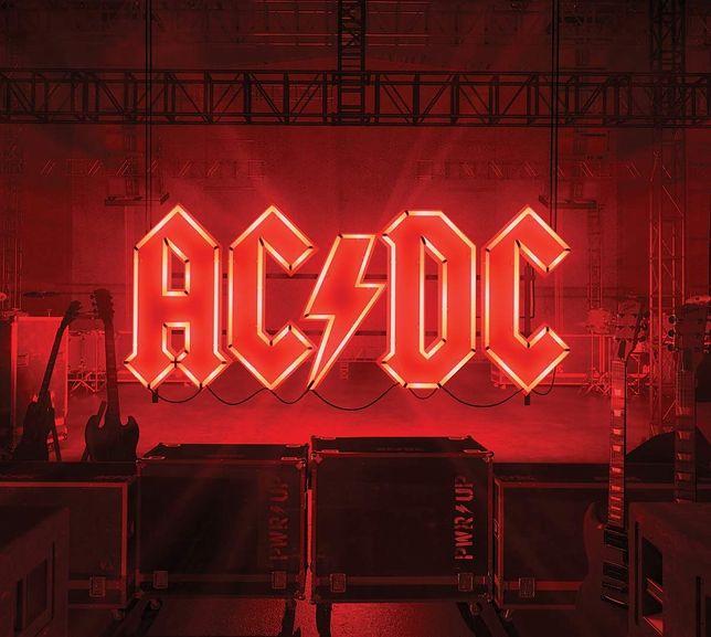 """okładka płyty AC/DC """"Power Up"""""""