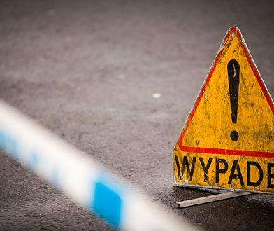Autostrada A4: Wypadek samochodu ciężarowego niedaleko Krakowa. Droga zablokowana
