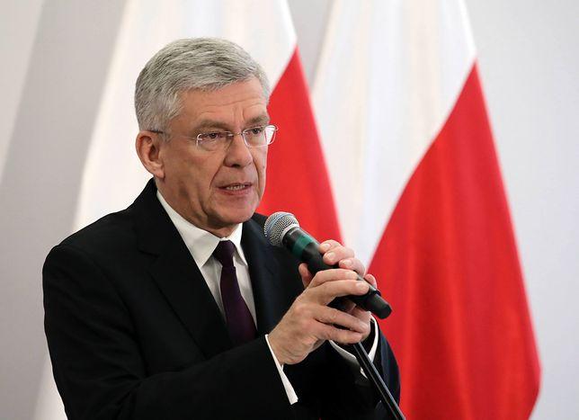 Stanisław Karczewski cierpliwie wysłuchał swoich przeciwników
