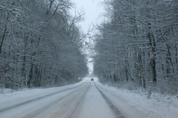 Prawdziwa zima zaatakowała z całą siłą