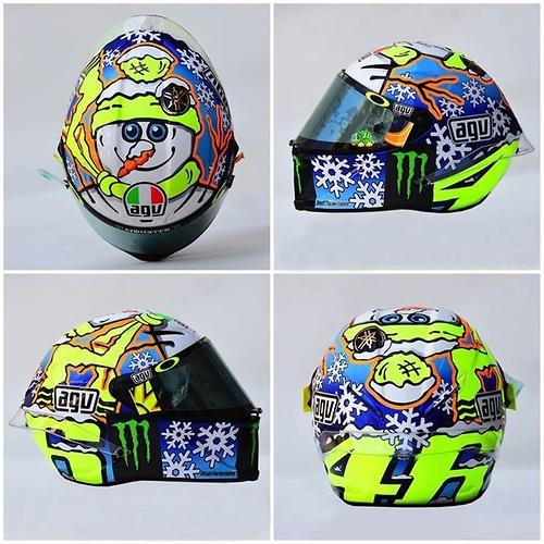 a4de1d090cd Czy podoba Ci się malowanie kasku przygotowane przez Valentino Rossiego?