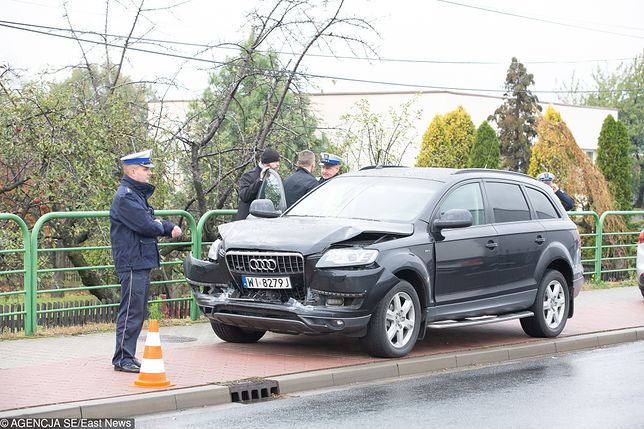 Do wypadku z udziałem samochodu SOP doszło w czwartek po południu
