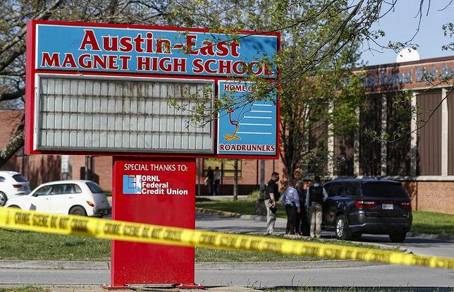 Strzelanina w USA. Nie żyje uczeń, policjant trafił do szpitala
