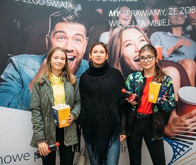 Młodzi widzowie kina Visa