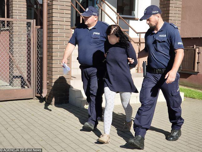 Aresztowana Anna W., matka 9-miesięcznej Blanki