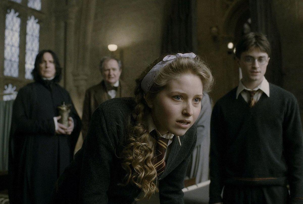 """Jessie Cave wspomina, jak traktowano ją na planie """"Harry'ego Pottera"""""""
