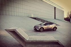 Toyota C-HR 1.2 - test