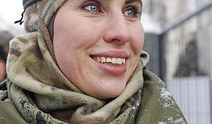 Amina Okujewa była jednym z symboli wojny w Donbasie