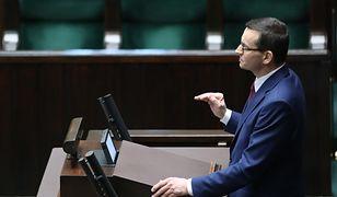 Premier Mateusz Morawiecki zaapelował do marszałka Sentatu o przyspieszenie obrad izby wyższej.