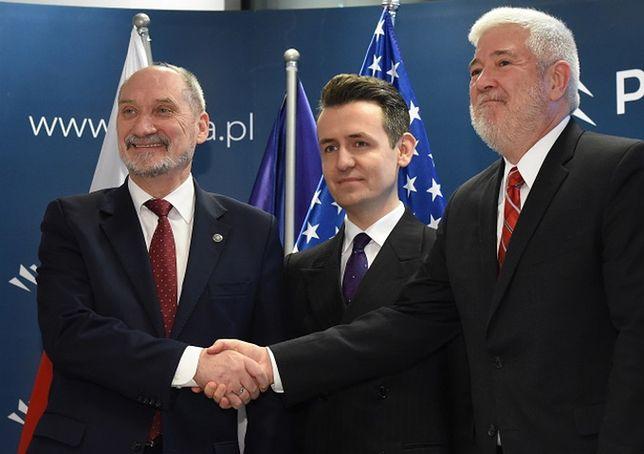 Antoni Macierewicz zapowiada współpracę z producentem rakiet Patriot