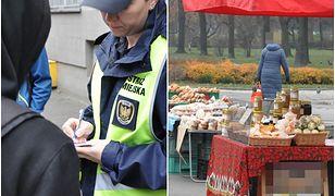 Historia kobiety handlującej bułkami wzruszyła Polaków. Straż miejska ostro: To zorganizowana przestępczość