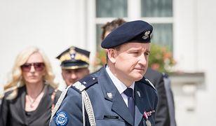 Zdymisjonowany generał SOP Tomasz Miłkowski